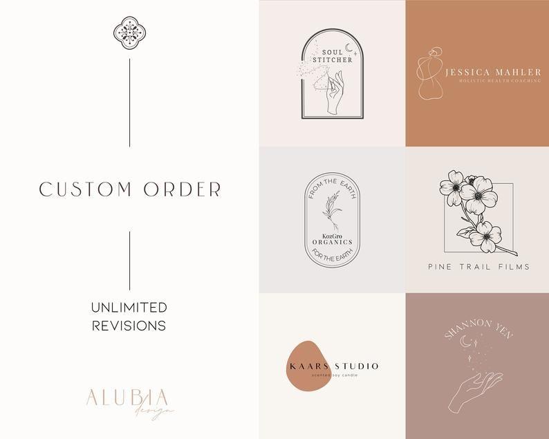 Custom Order Custom Design Brand Design Business Logo Minimalist Logo Modern Logo Custom Branding Branding Minimalist Design Custom Branding Branding Design Perfume Logo