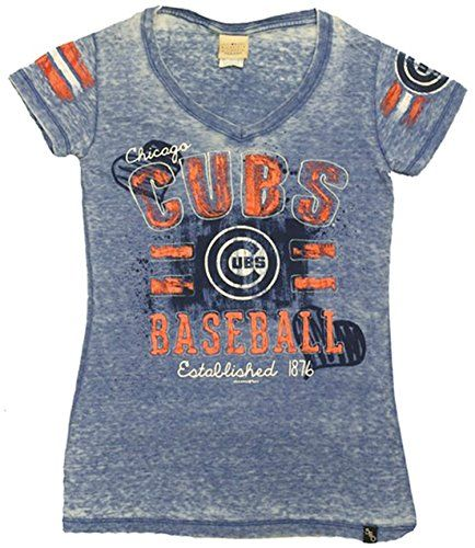 Chicago Cubs Ladies Baseball Est Fitted V-neck Shirt (X-large) 5th & Ocean http://www.amazon.com/dp/B00JFEXURC/ref=cm_sw_r_pi_dp_4MZJvb0CQYJBD