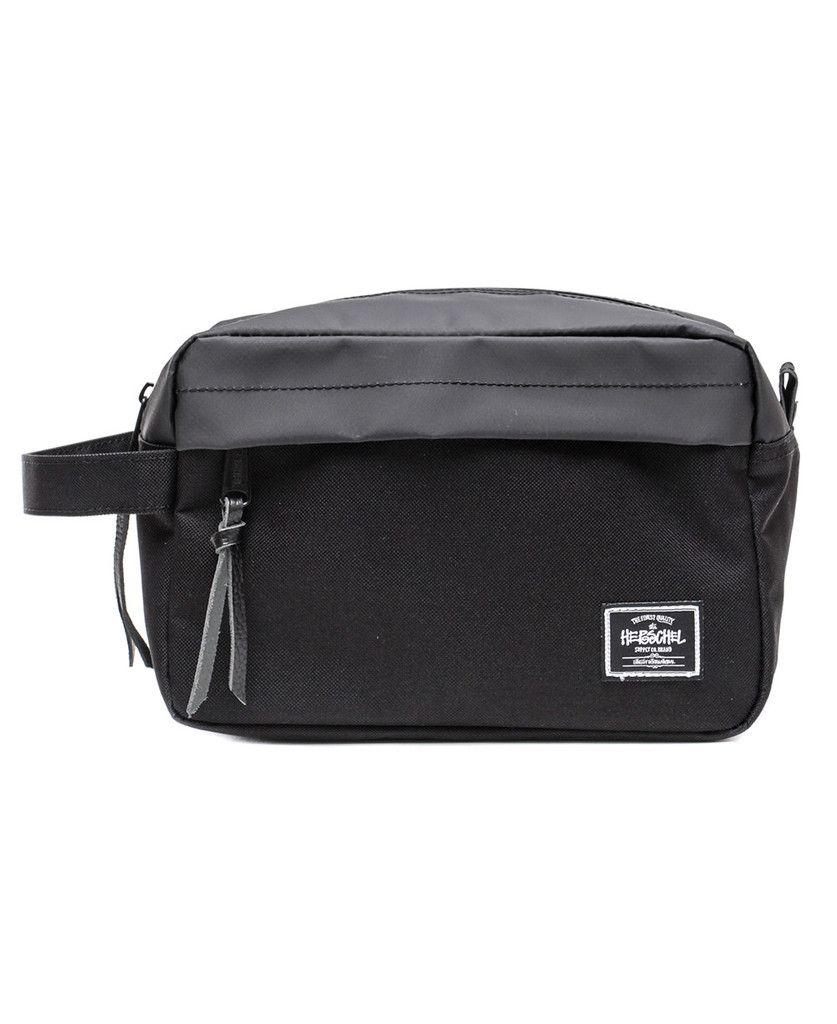famosa marca de diseñador sensación cómoda gran descuento para Stussy x Herschel Supply Co. - Classic Dopp Kit (Black ...
