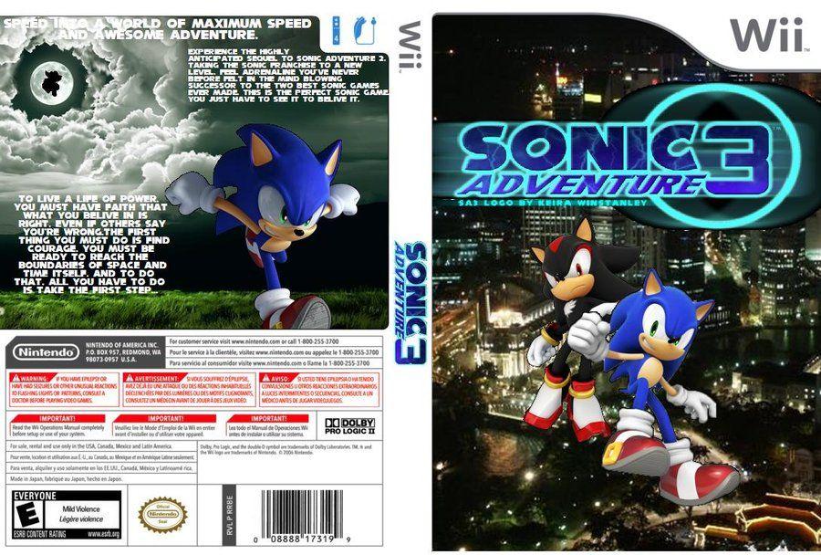sonic adventure 3 coverart 2 | Sega | Sonic adventure, Sonic