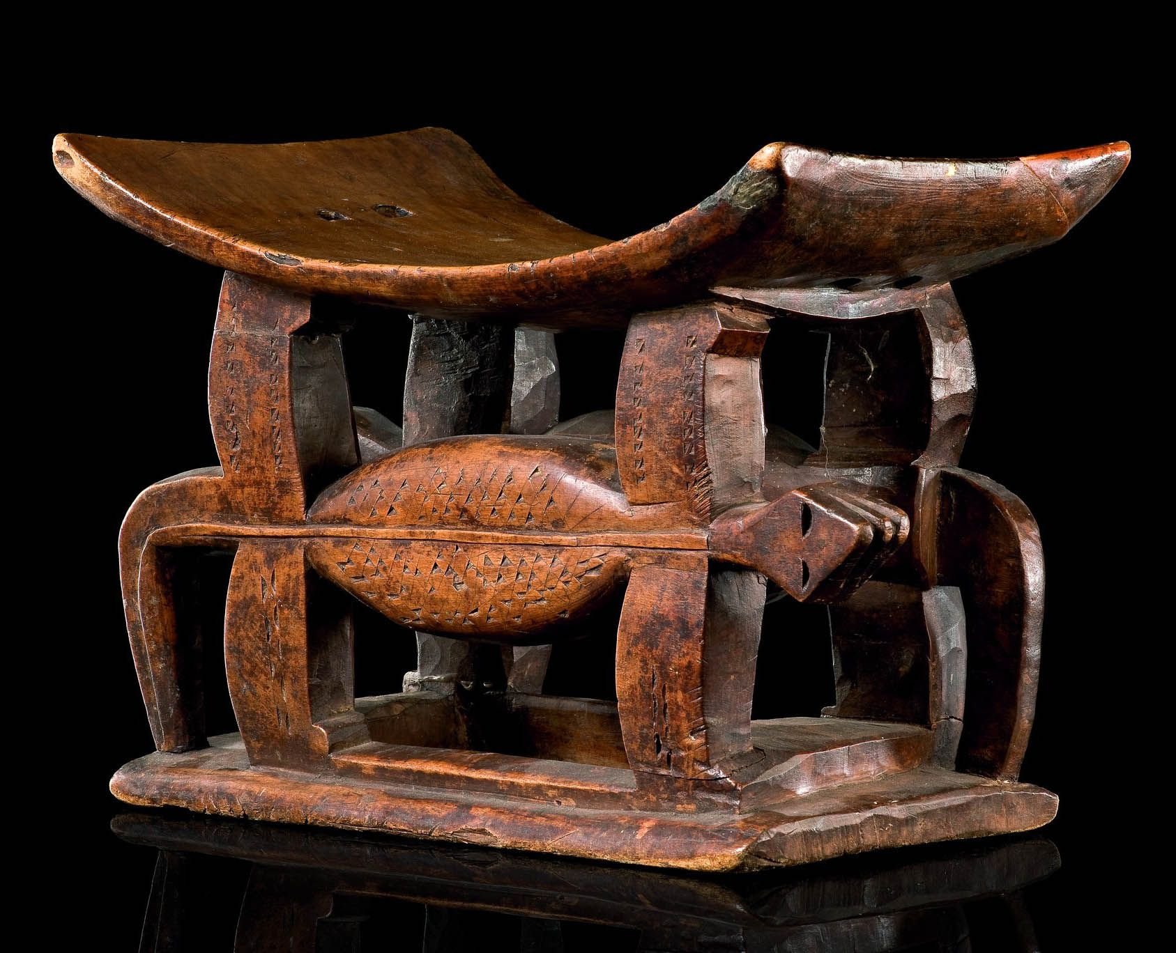 Stool Chair Ghana Old Fashioned Bedroom Chairs Africa From The Ashanti People Of Wood