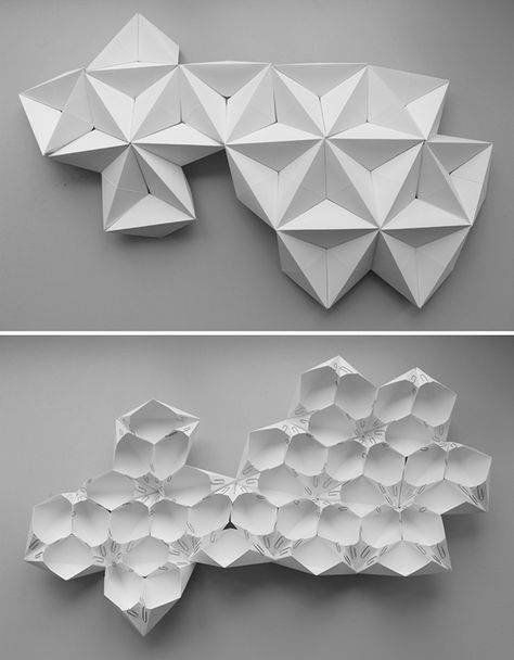 Photo of Trendy Origami Architektur Papier Behance Ideen