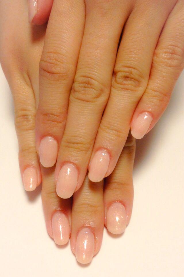 Natural color nail | Nails ♥ | Natural nails, Natural ...