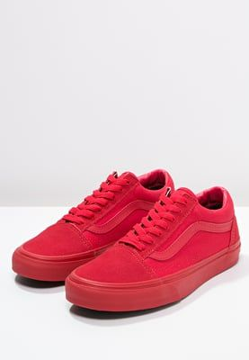 Vans OLD SKOOL - Trainers - triple red for £40.00 (17 04 16) with free  delivery at Zalando c4912a944bb