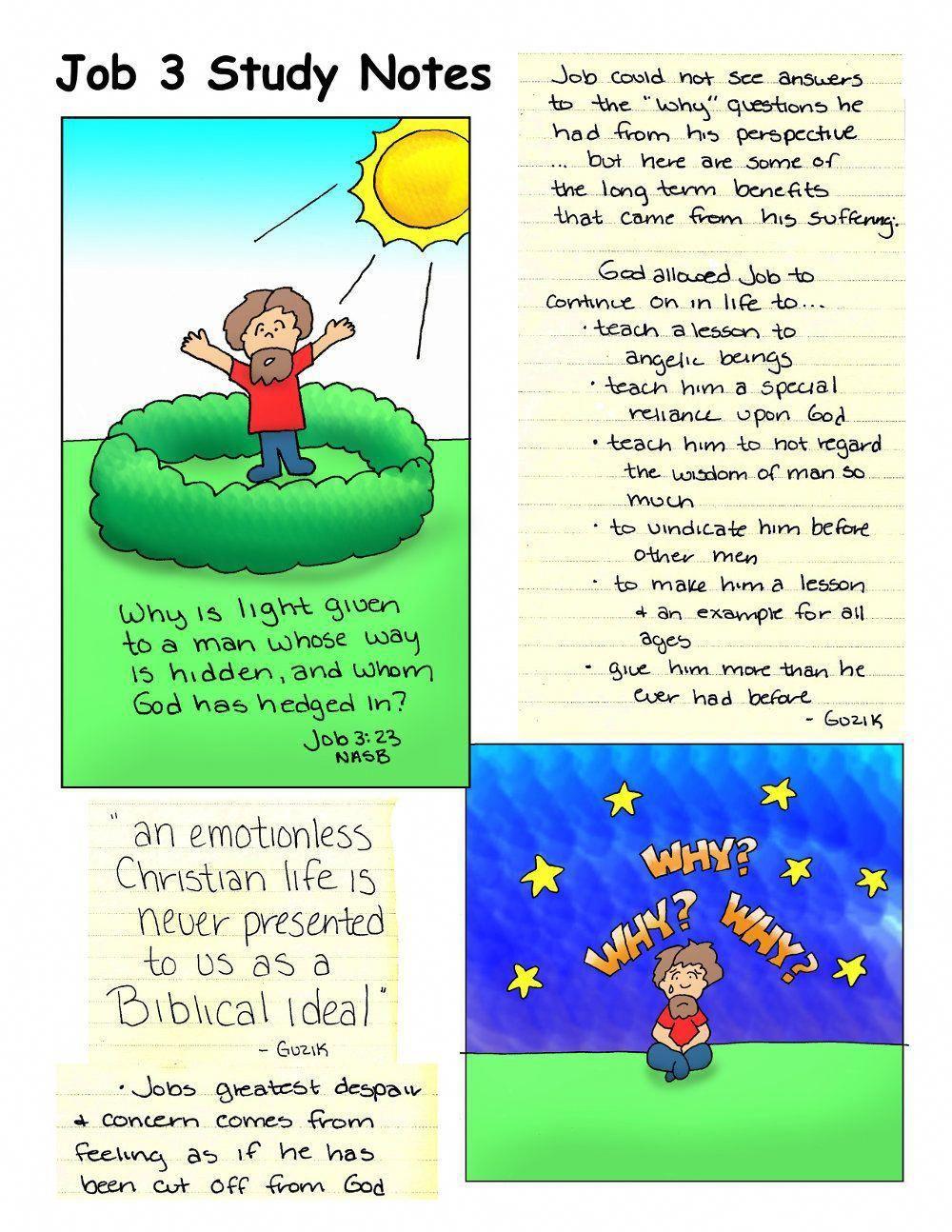 Have You Considered My Servant Job? Bible study job, Job