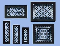 Antique Recreated Cast Iron Floor Ceiling Or Wall Grate For Return Air Intake Or Heat Vents Floor Register Floor Register Covers Floor Registers Wall Grille