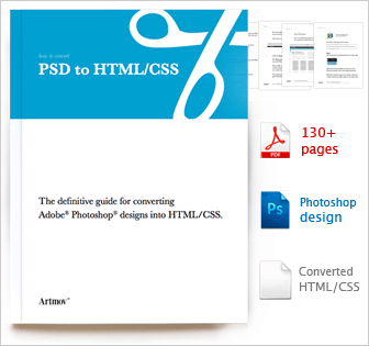 Carte De Visite Site Design How To Convert PSD HTML CSS By Artmov