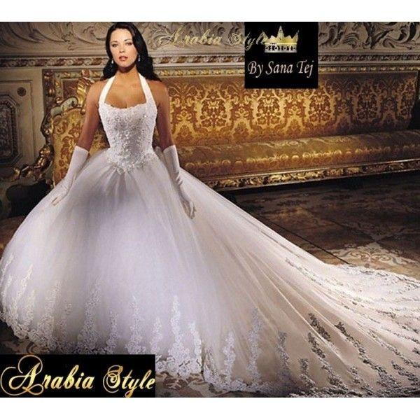 Robe de mariee princesse rose et blanche  Robe de blanche