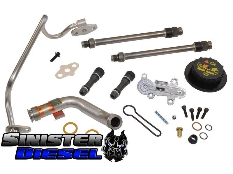 Sinister Diesel Update Kit For 2003 2004 6 0l Powerstroke Powerstroke Diesel Sinister