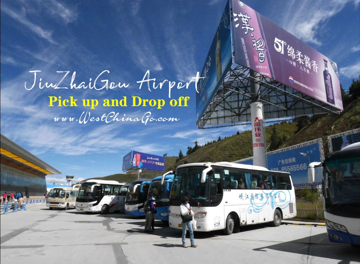 jiuzhaigou airport transfer:pick up and drop off