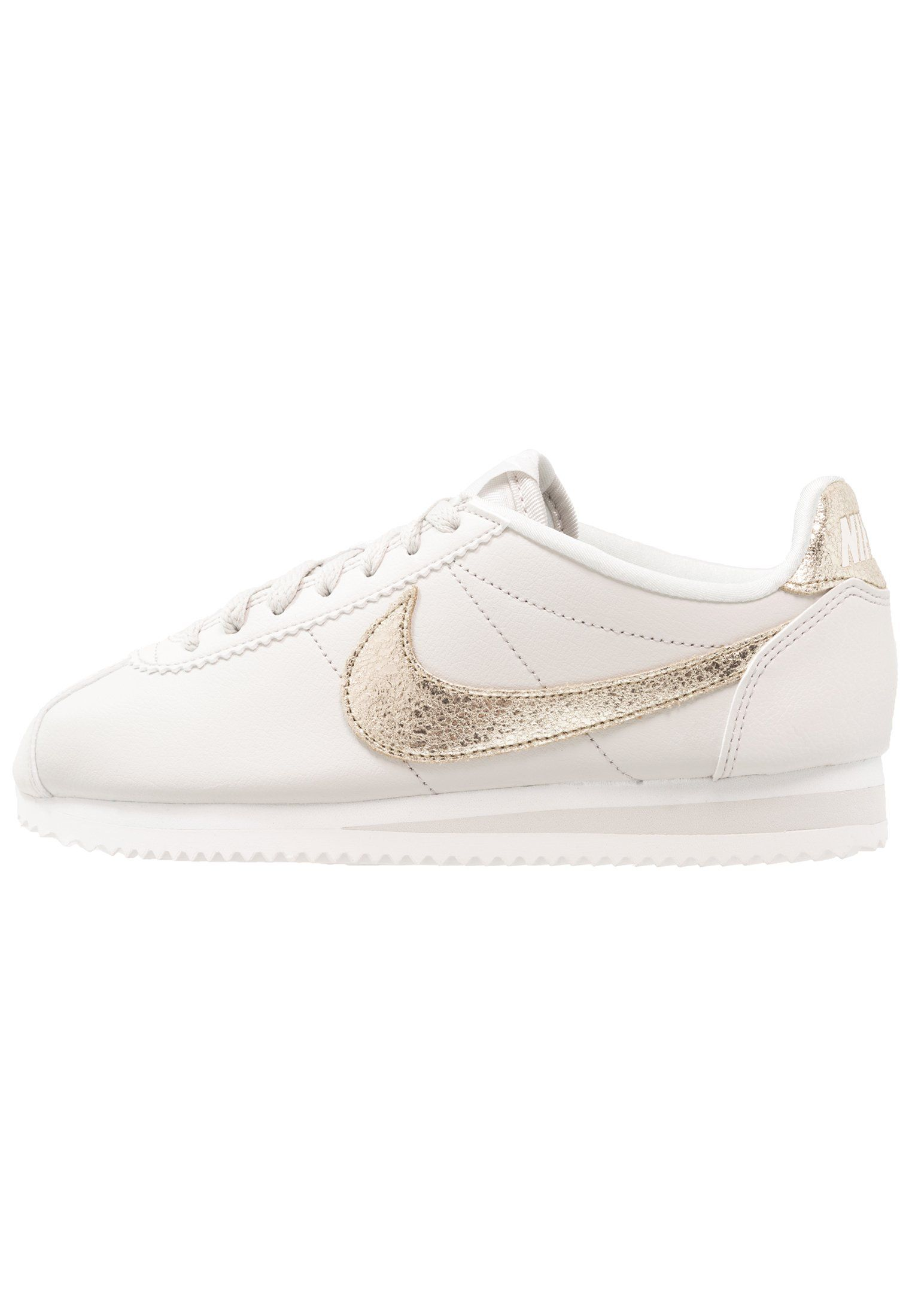 the latest e48b6 46719 Nike Sportswear CLASSIC CORTEZ PRM - Tenisówki i Trampki - light bone bronzed  olive summit white - Zalando.pl