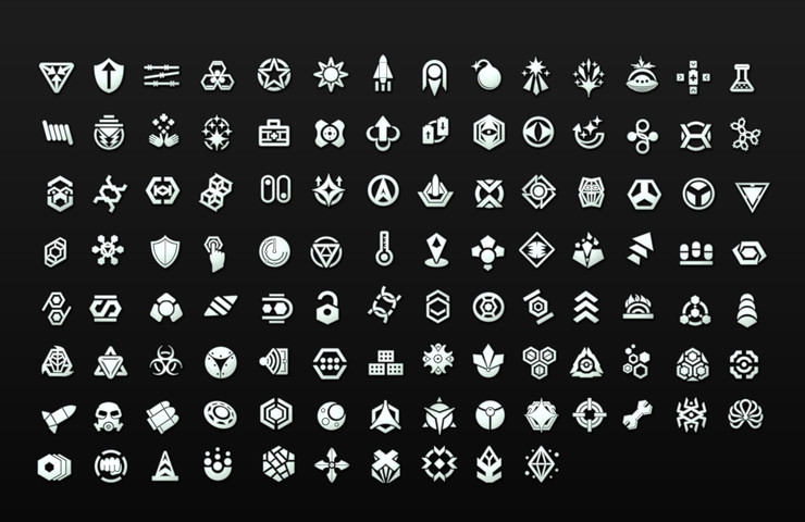 Sci Fi Flat Game Icons 2d Icons Unity Asset Store Game Icon Sci Fi Icon