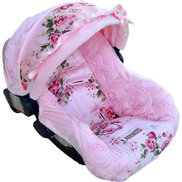 Vintage Rose Car Seat Cover Baby Car Seats Baby Girl Car Seats