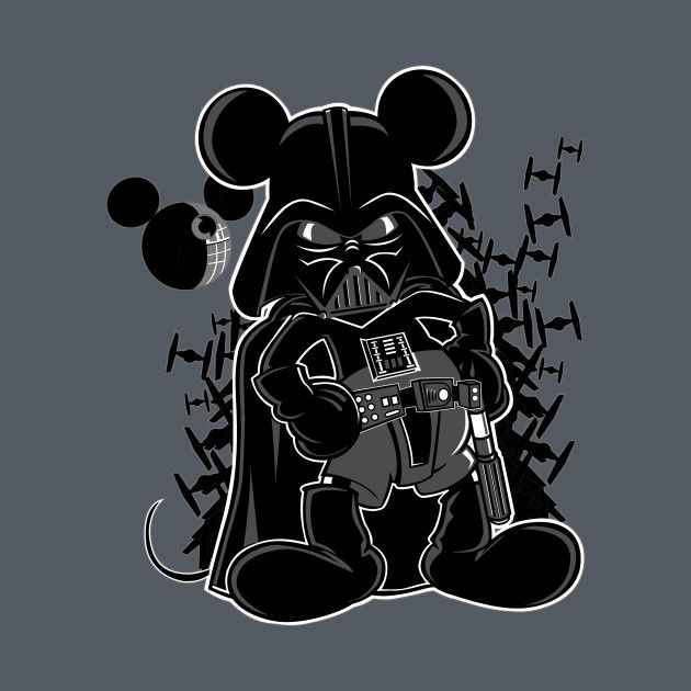 Darth Mickey Mouse By Louieloco Mickey Star Wars Darth Mickey Star Wars Art