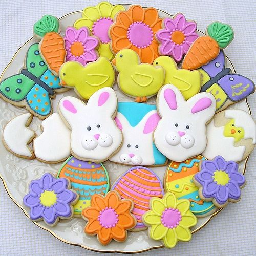 Easter spring decorated sugar cookies easter egg sugar cookies recent photos the commons getty collection galleries world map app gumiabroncs Image collections