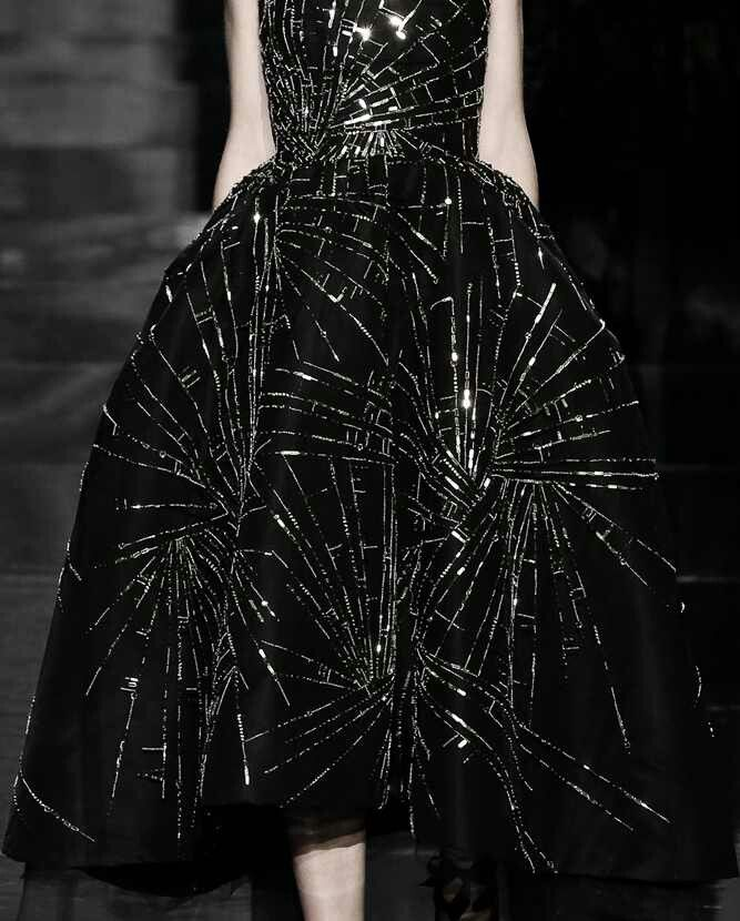 Inspiration, Spider Dress.....maybe draw the design on with silver sharpie....k...Dior 2014