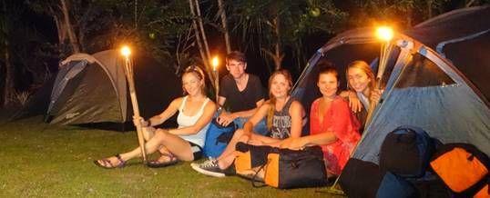 Paket Wisata Adventure Di Bali Camping Tubing Ayung