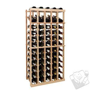 Vintner Series Wine Rack - 5 Column Individual w/Display - Wine Enthusiast