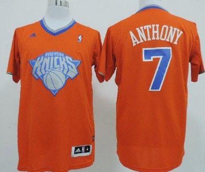 5a7ade36 ... usa new york knicks 7 carmelo anthony revolution 30 swingman 2013  christmas day orange jersey 3c9da