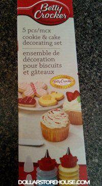 Dollarama Cake Decoration : Dollarama Deal   Betty Crocker Cake Decorating Kit ...