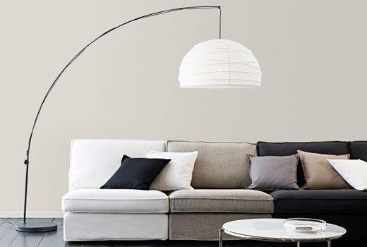 ikea stehleuchten wie z. b. regolit standleuchte | living room, Wohnzimmer
