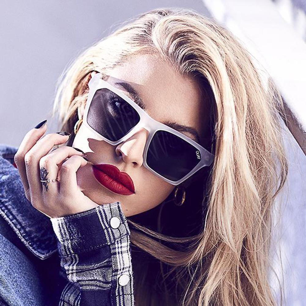 f028024ff8 Alright Sunglasses - White   Smoke Lens in 2019