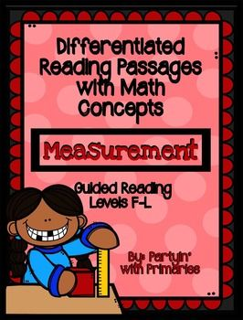 Differentiated Reading Passages With Math Concepts Measurement Differentiated Reading Passages Reading Passages Differentiated Reading