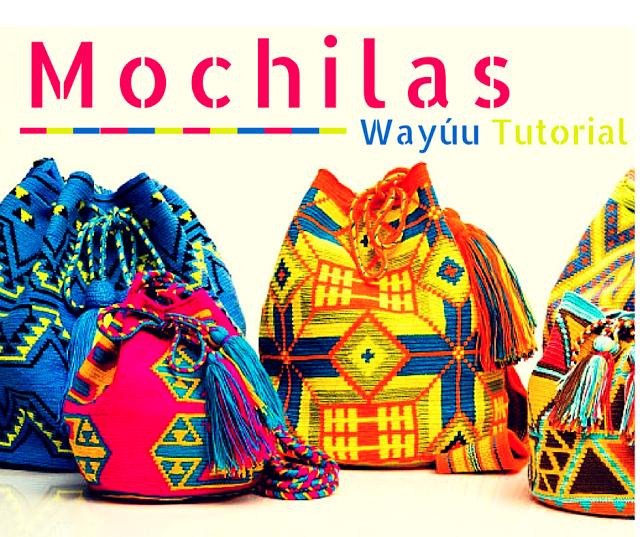 Cómo tejer una mochila Wayúu a Crochet - Completo | bolsos wuayuu ...