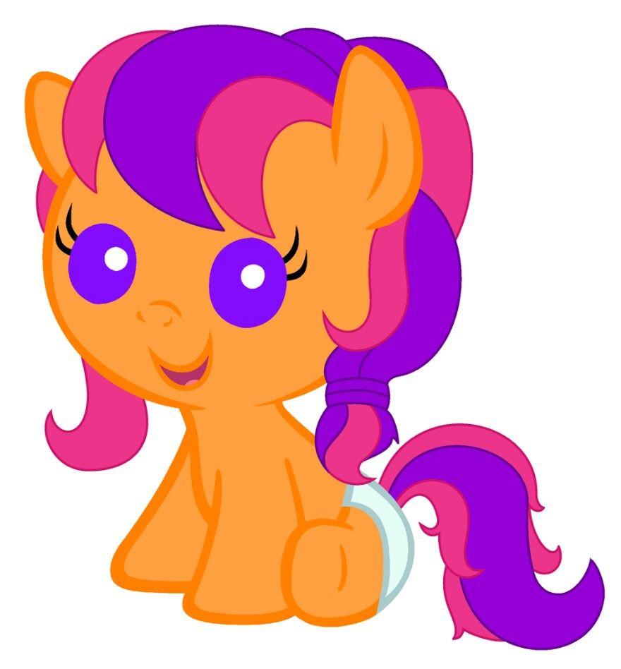 Pin By Alydia Warden On My Little Pony My Little Pony Baby Baby Pony My Little Pony Sticker pack 'scootaloo pony' by mlp creative lab. pinterest