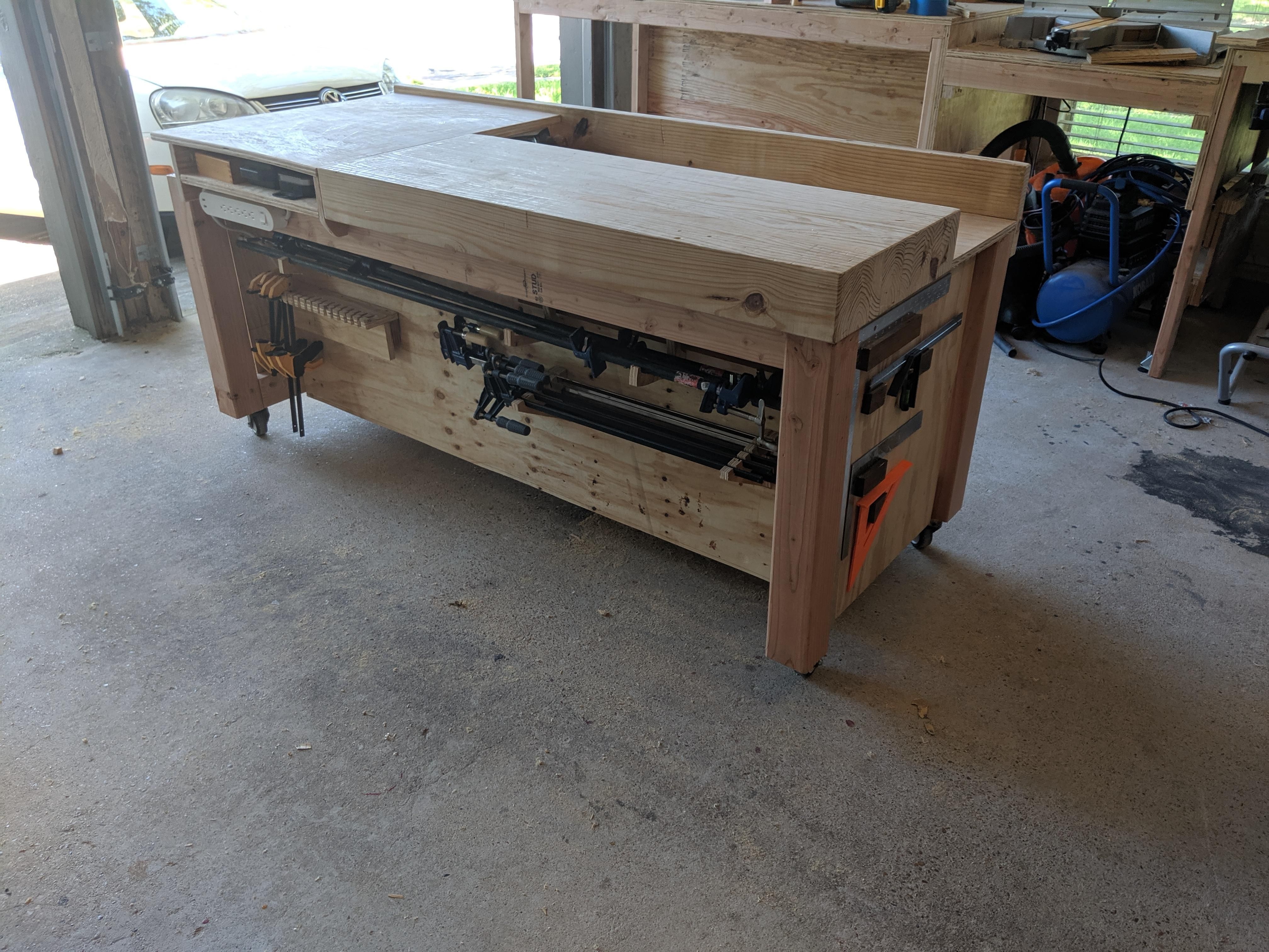 Workbench phase 1 complete, build album in comments