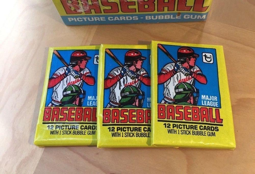 1979 topps baseball wax pack ozzie smith rookie psa 10