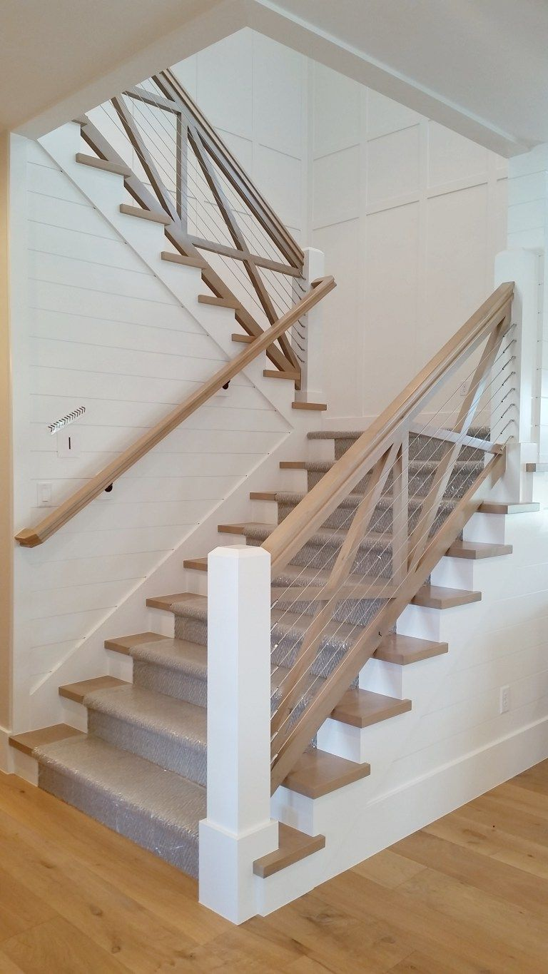 Best 10 Design Trends That Will Update Your Home Farmhouse Stairs Cottage Stairs House Stairs 400 x 300