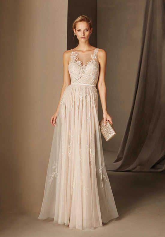 Pronovias Cocktail BALI V-Neck Bridesmaid Dress   W: Bridesmaids ...