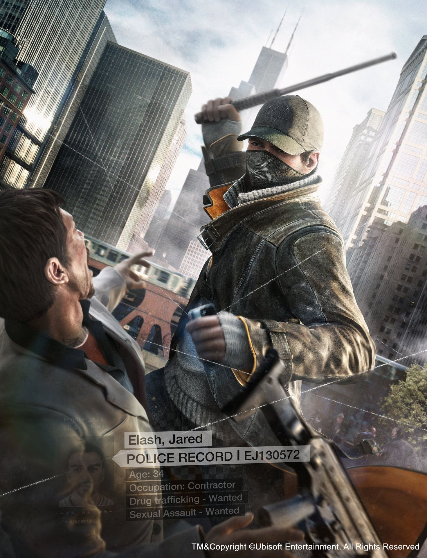 ArtStation - Watchdogs_HR takedown, Anthony Guebels