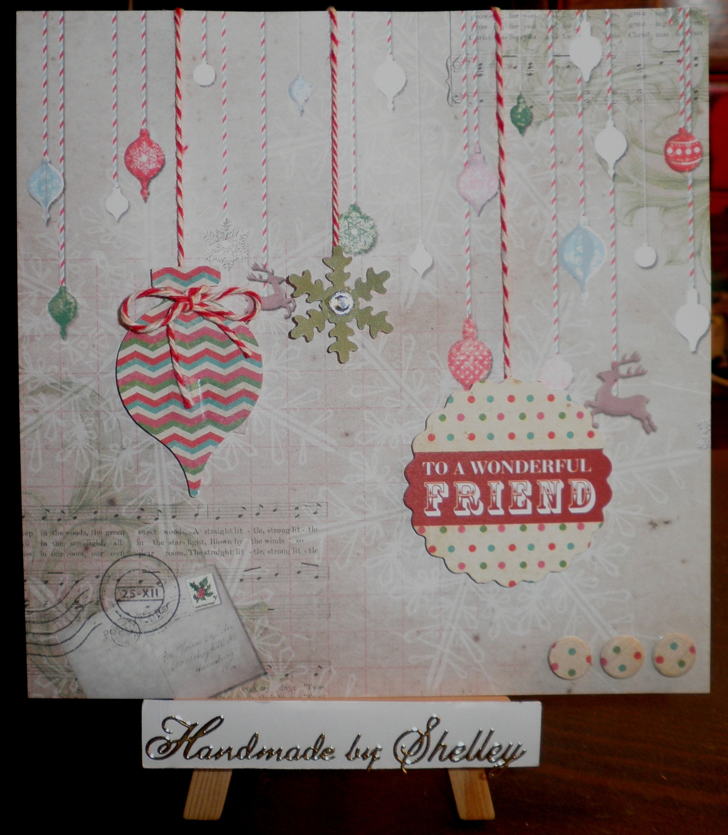 Christmas Post collection by Craftwork Cards.