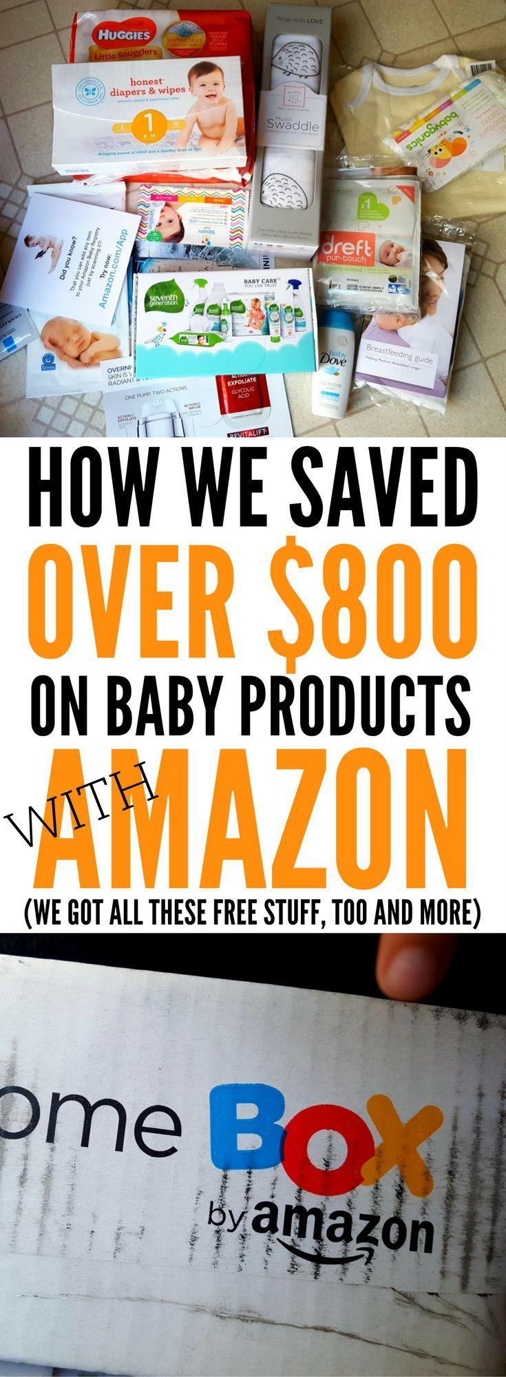 Amazon Baby Registry Get The Free Box (500
