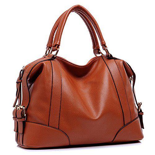 New Genuine Leather Zippered Backpack Style Purse Handbag Black Brown Tan