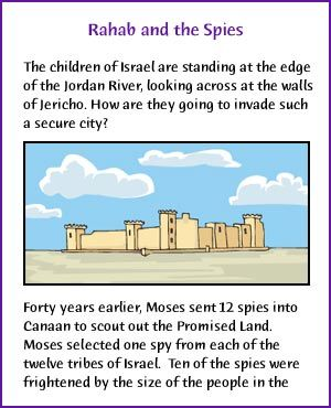 Rahab And The Spies Story