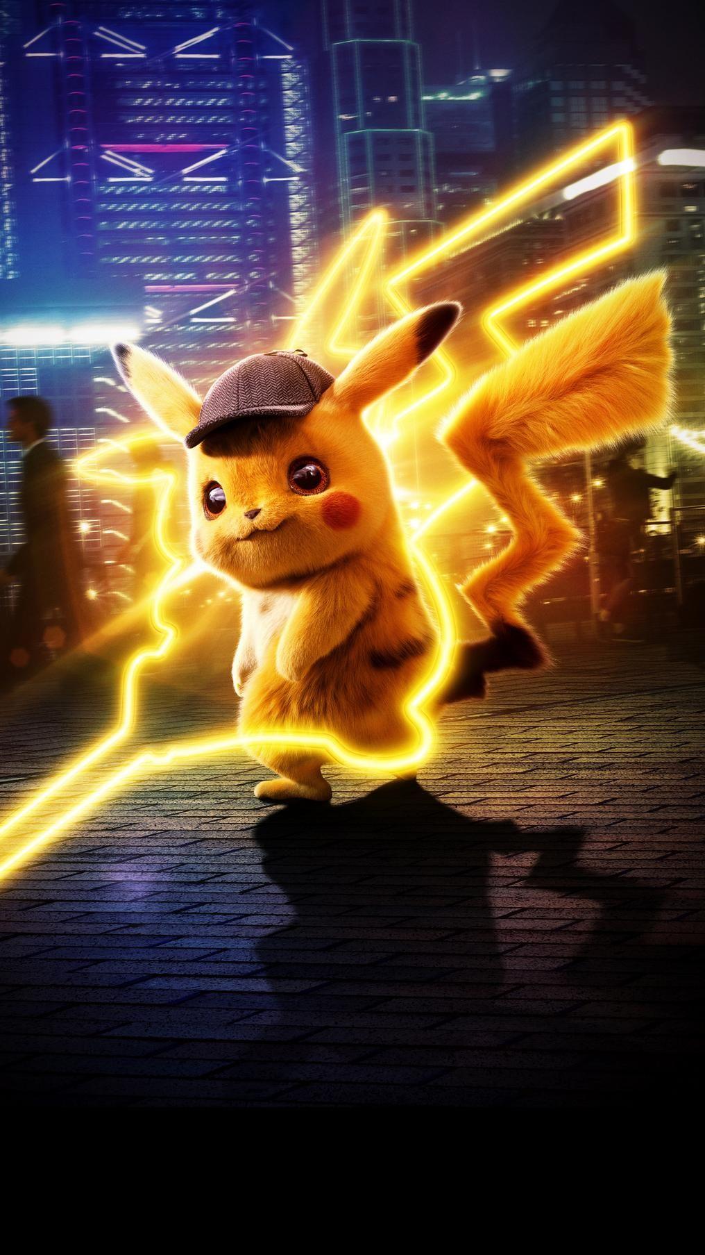 Pokémon Detective Pikachu 2019 Phone Wallpaper Arte