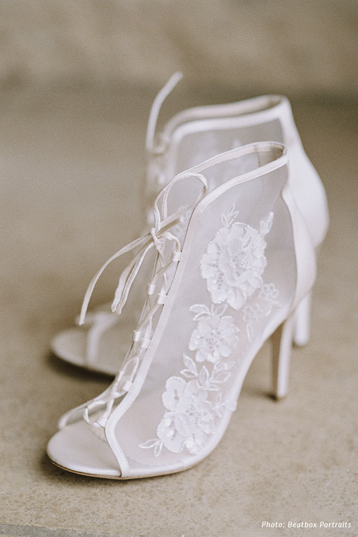 Angelina Victorian Era Inspired Wedding Bootie Di 2020 Sepatu