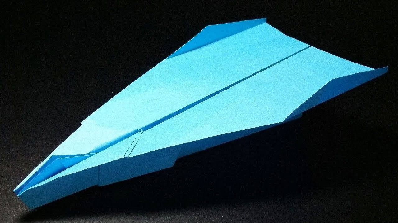 How To Make The BEST Paper Airplane In World