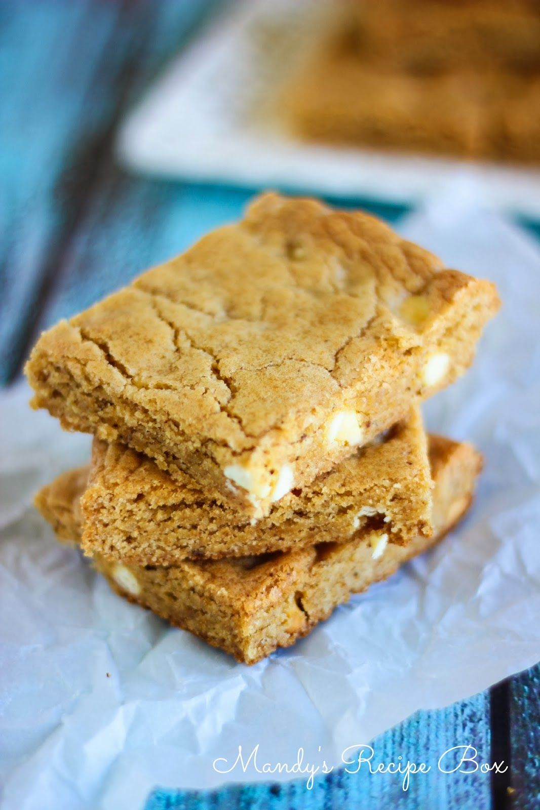 Mandy's Recipe Box: Browned Butter Blondies