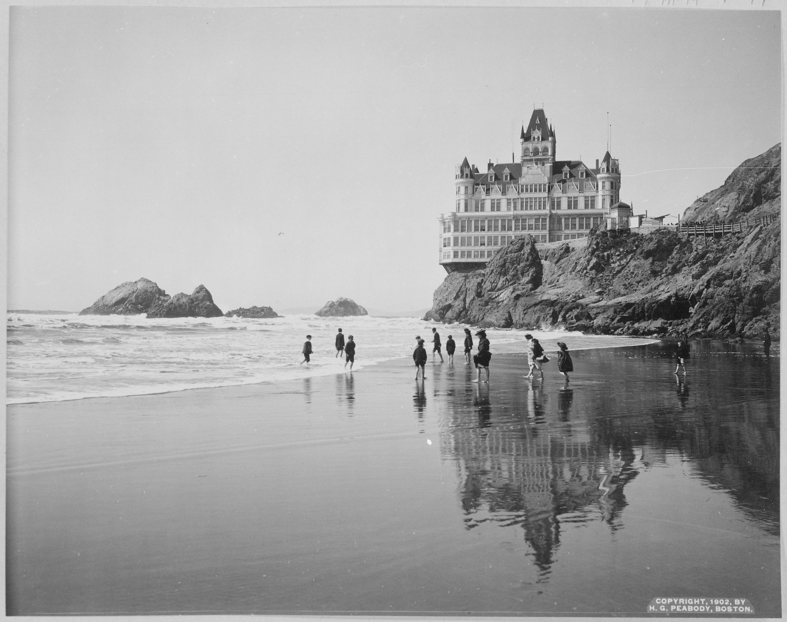 a house of ghosts: The Cliff House of San Francisco, Ca (1896-1907)