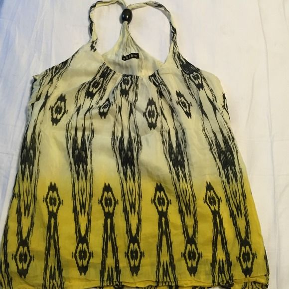 Beautiful ombre top Great  condition, fully lined Akiko Tops