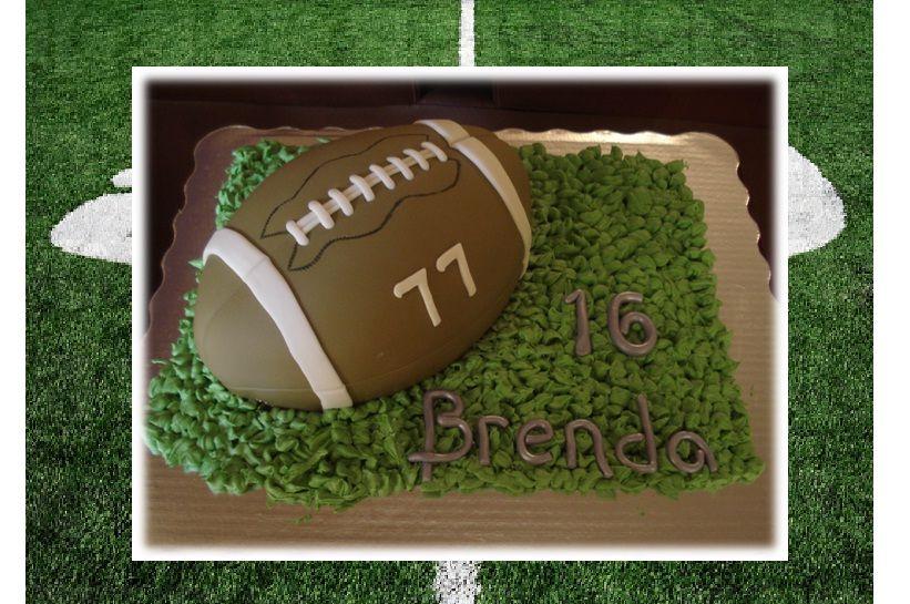 Pastel de Balón de football