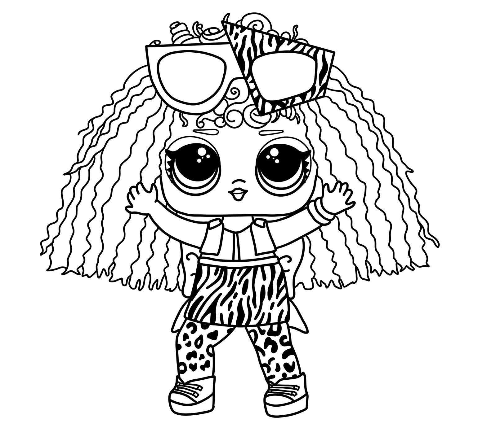 New 2019 Lol Dolls Coloring Pages Lol Dolls Frozen Coloring Coloring For Kids