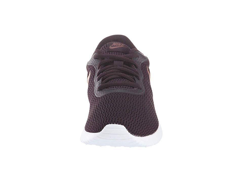 8fd35a3c1eb Nike Tanjun Women s Running Shoes Burgundy Ash Metallic Red Bronze ...