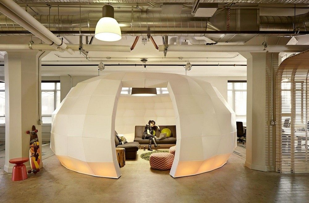 designing office space. The Psychology Behind Designing Corporate Spaces - Http://freshome.com/psychology Office Space