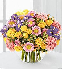what woman wouldn't want to receive these?  http://www.dfwflowers.com/