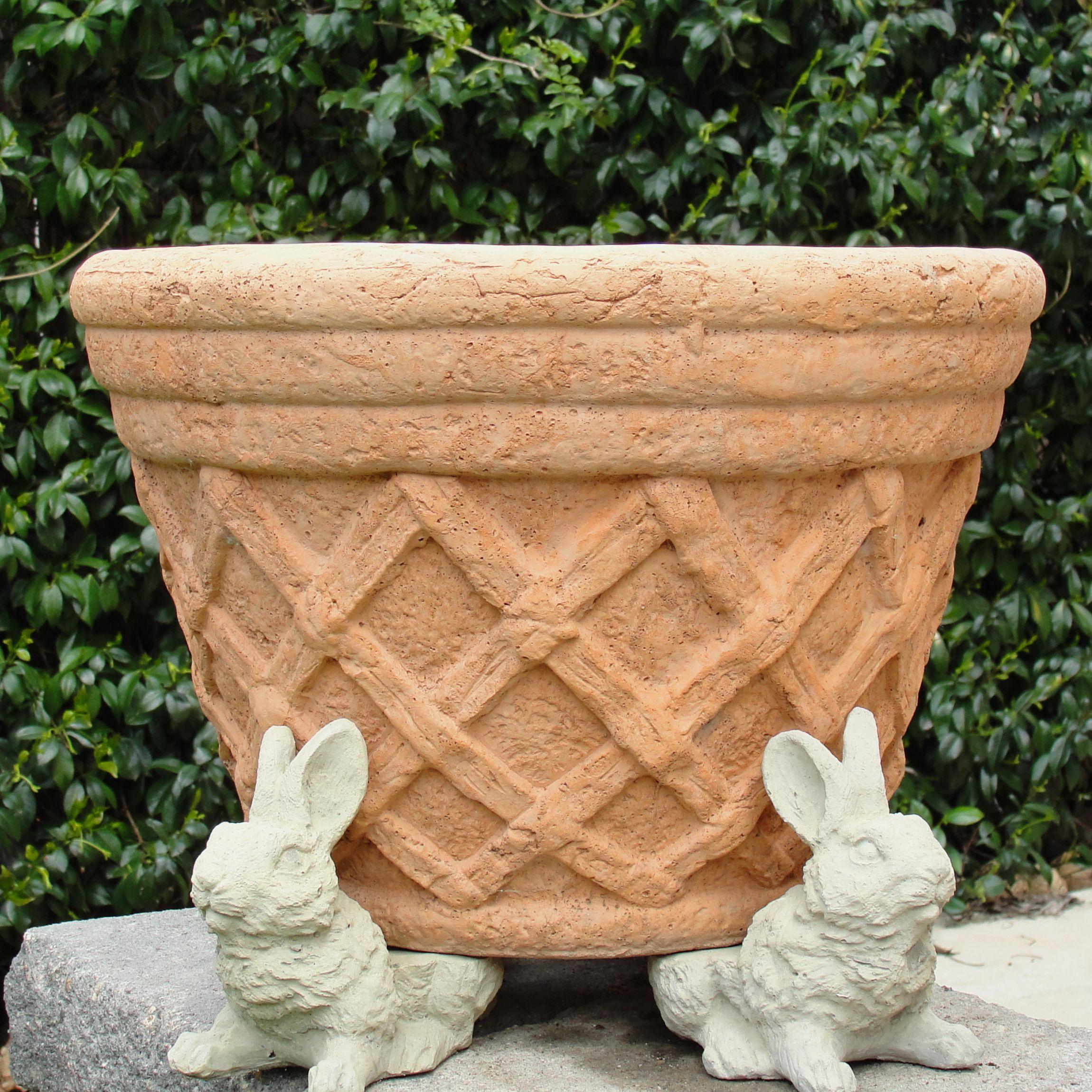Vintage Rabbit Pot Feet 3 Pcs Vintage Rabbit Garden Shop Garden Stones